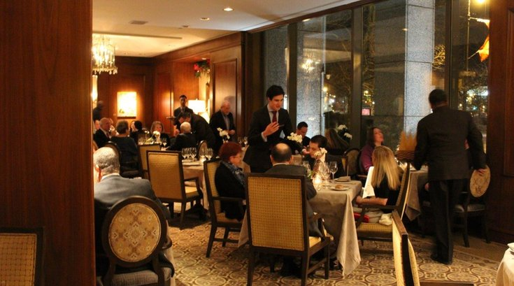 The Fountain Restaurant Last Dinner