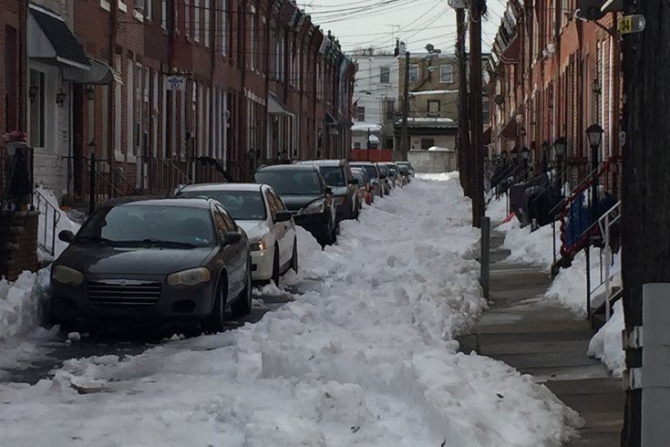 Fishtown snow 1