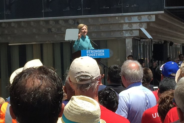 Hillary in Atlantic City