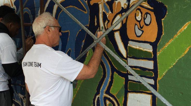 Jeffrey Lurie painting 2016