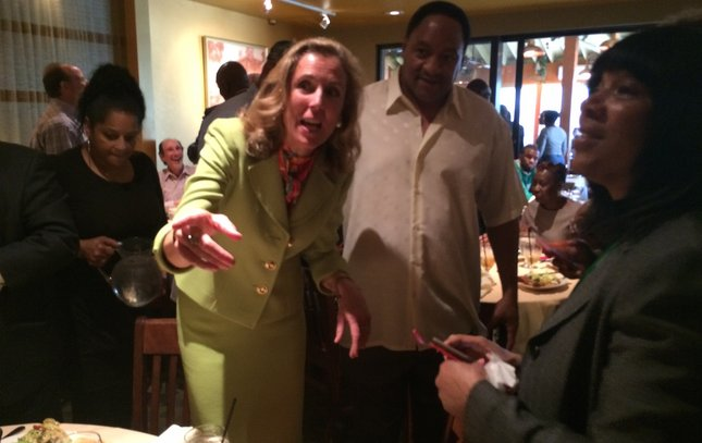 Katie McGinty at Relish
