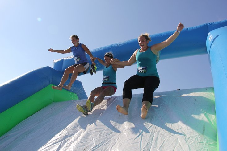 InsaneInflatable 5K race