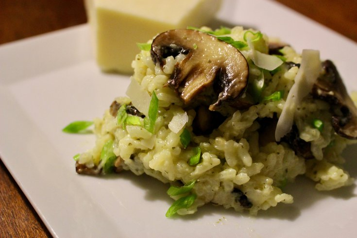 Mushroom Risotto Independence LIVE