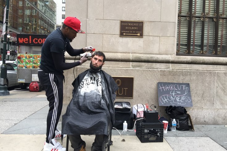 Barbers Mission Haircuts For The Homeless Phillyvoice