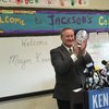 Mayor-Elect Jim Kenney at Andrew Jackson School