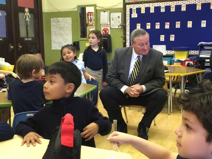 Kenney at Andrew Jackson School