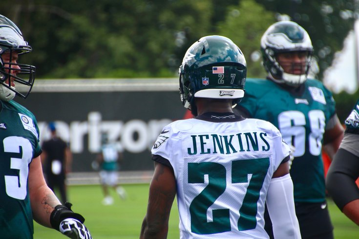 731dcfc7e Malcolm Jenkins grew up trying to be like Eagles' Brian Dawkins ...