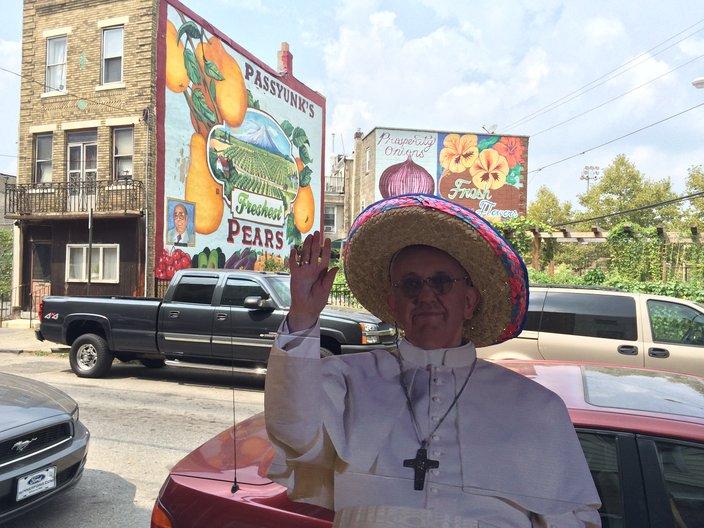 Pope in EPA
