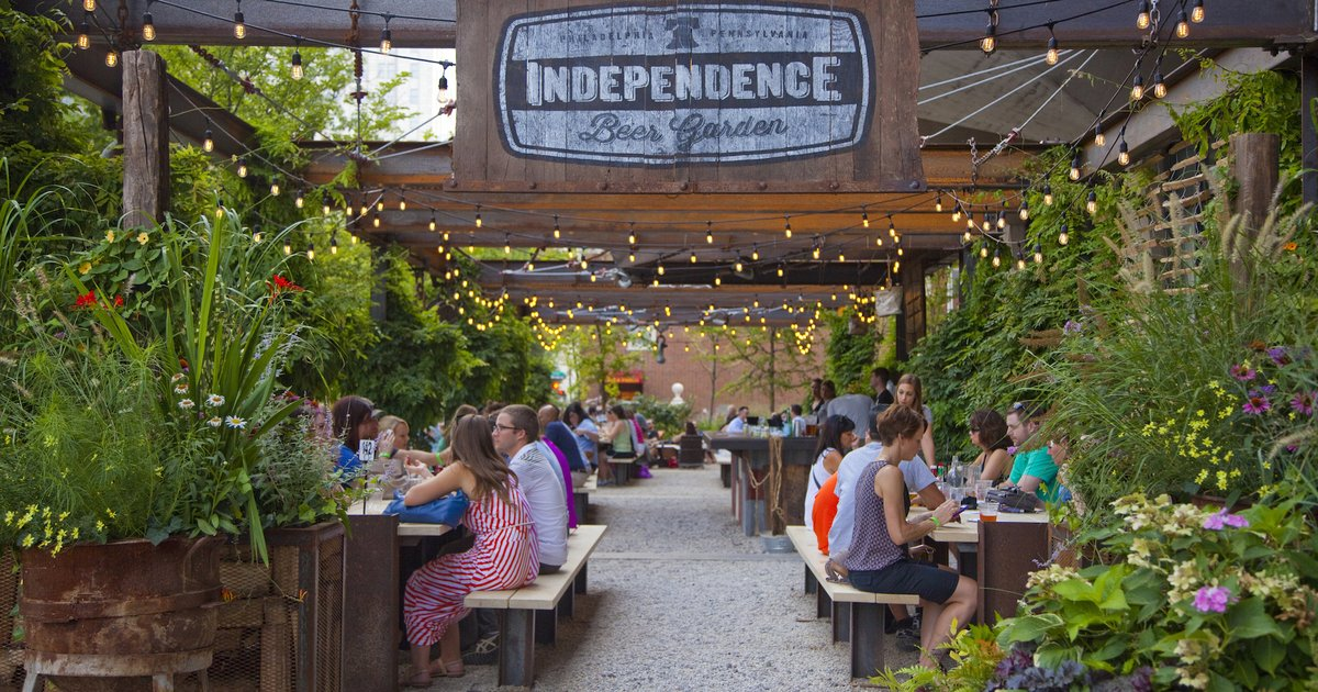 Independence Beer Garden To Open In April Phillyvoice