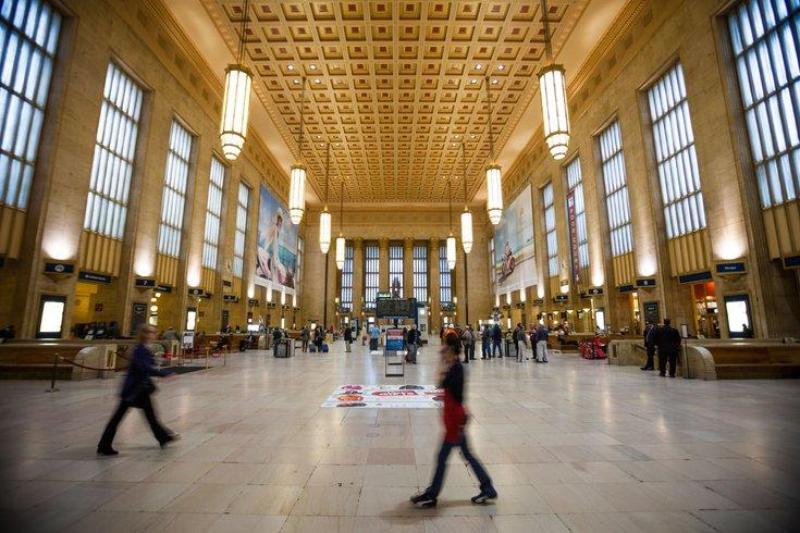 Inside 30th Street Station