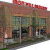 Rendering of Iron Hill Brewery and Taproom opening in Exton