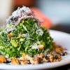 Marinated Kale and Brussel Sprouts