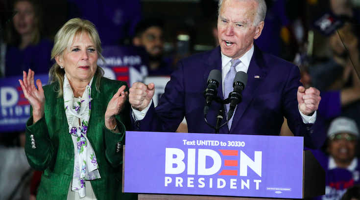 Joe Biden Super Tuesday