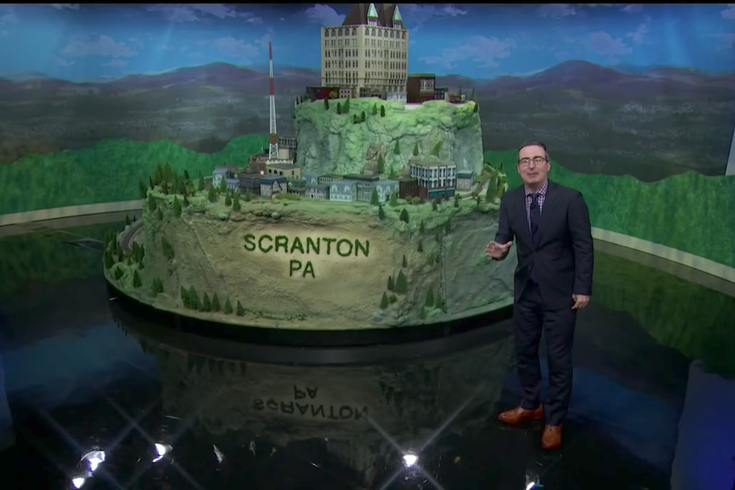 John Oliver Scranton Train