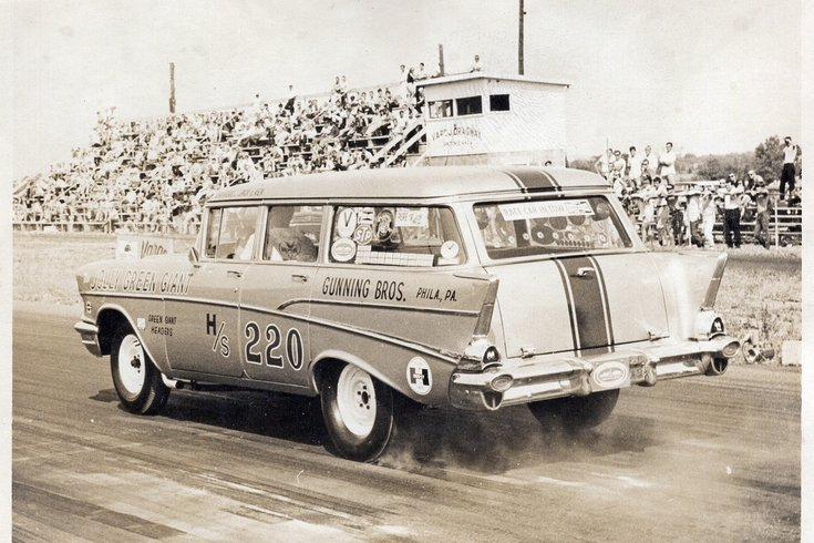 """Jolly Green Giant"" at Vargo Dragway"