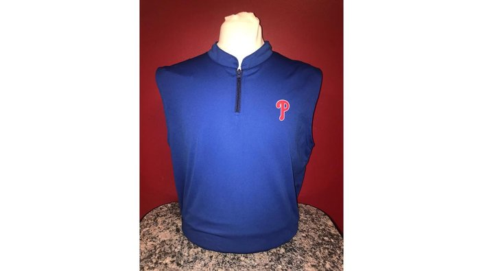 Phillies golf vest giveaway
