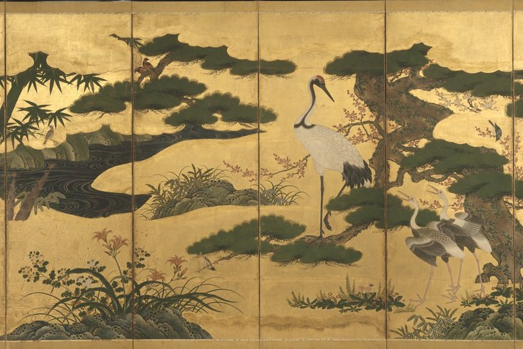 rare japanese art comes to philadelphia
