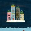 """Floating City"" by Terri Fry Kasuba"