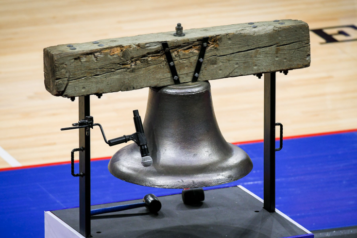 Philadelphia Basketball Sadium Bell