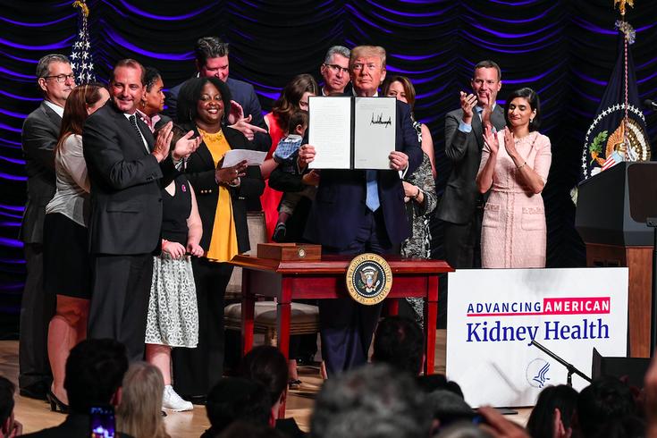 Kidney Trump Order