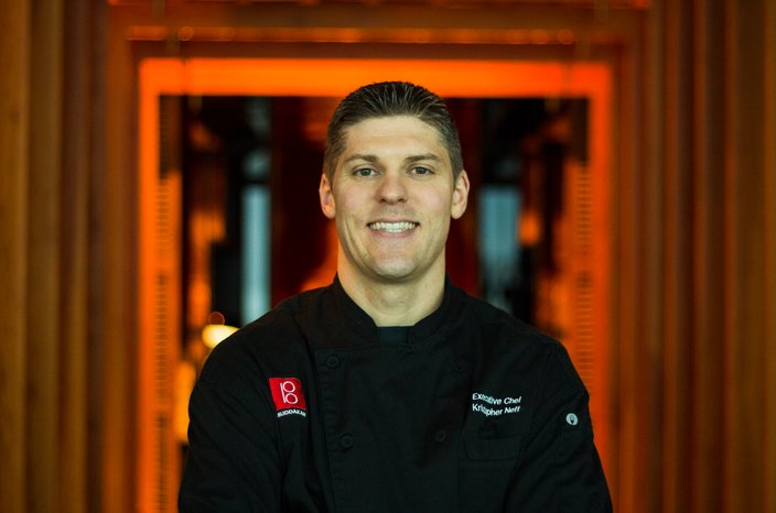 Chef Kris Neff form Buddakan Atlantic City.