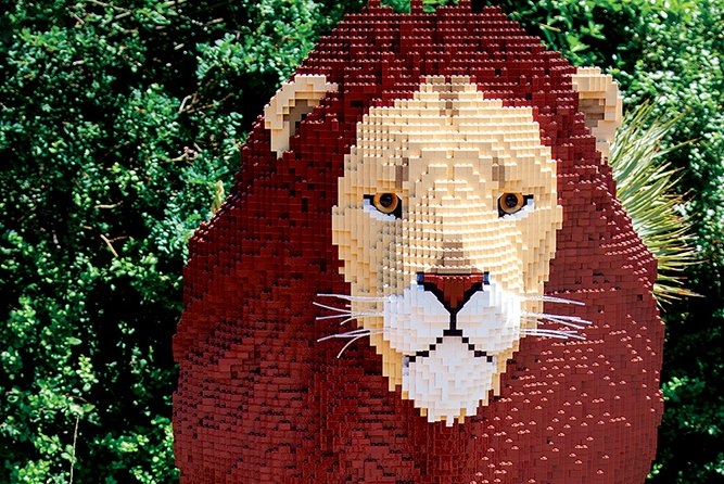 Philadelphia Zoo Lego animals