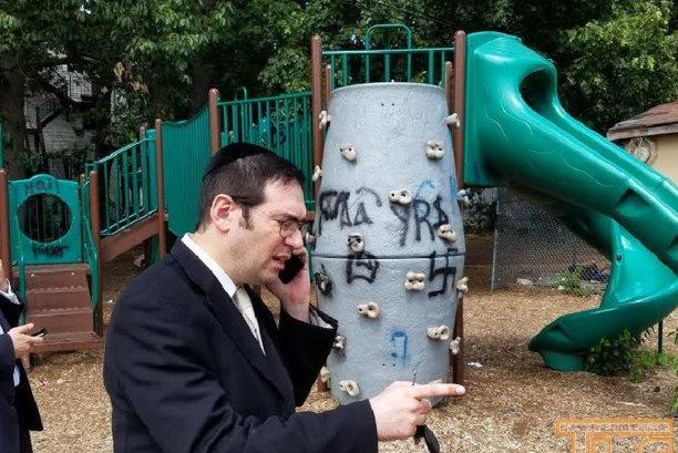 Anti-Semitic Graffiti