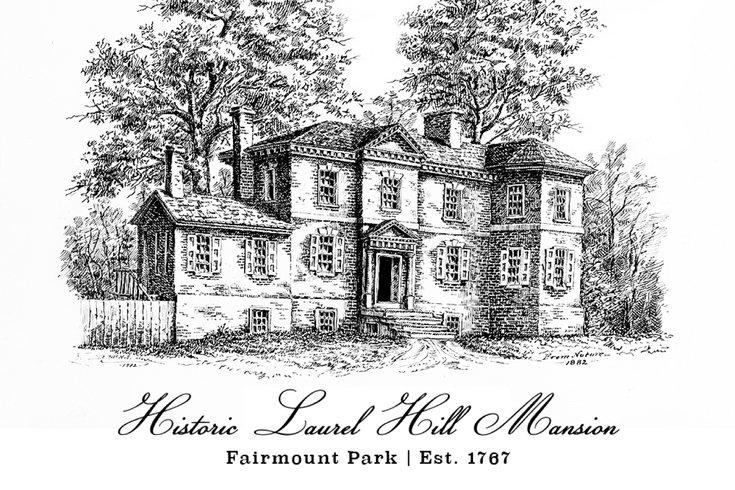 Laurel Hill Mansion in Fairmount Park