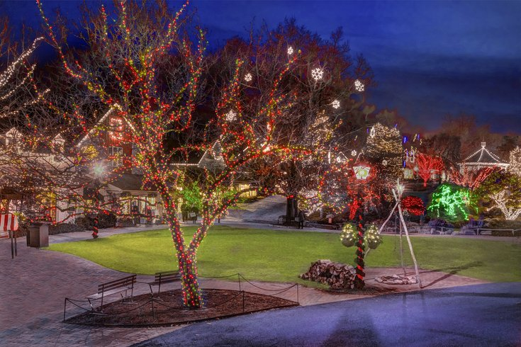 Grand Illumination Celebration in Peddler's Village