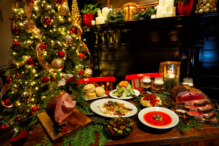 Christmas Dinner.Ideas For Dining Out On Christmas In Philadelphia Phillyvoice