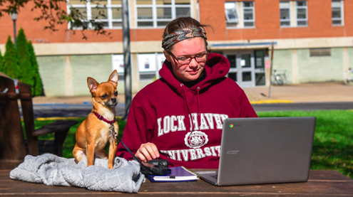 Lock Haven University pets