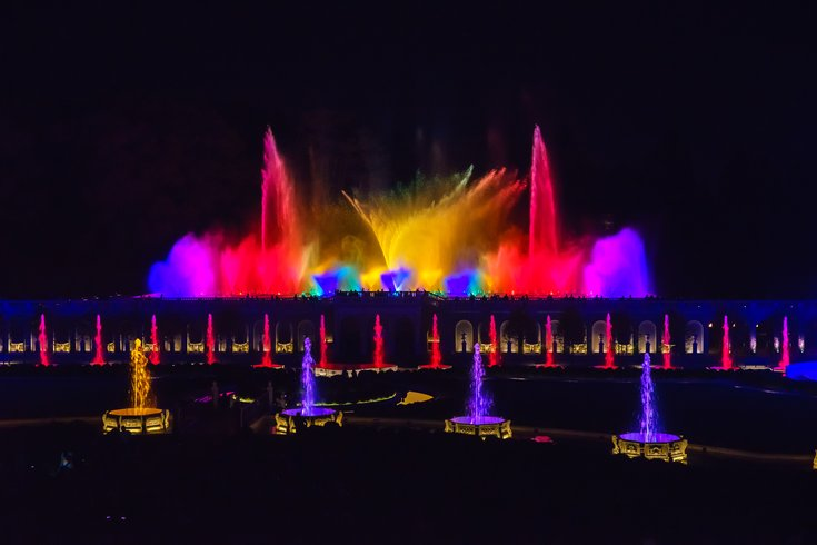Longwood Gardens fountain