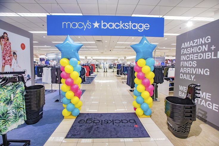 Macy's Backstage opening in King of Prussia Mall | PhillyVoice on my design center, bathroom design home depot center, home design outlet miami, home design center miami, homeowners design center, home window grill designs, beauty outlet center, lighting outlet center,