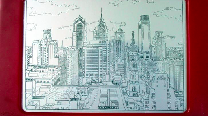 Philly Etch a Sketch