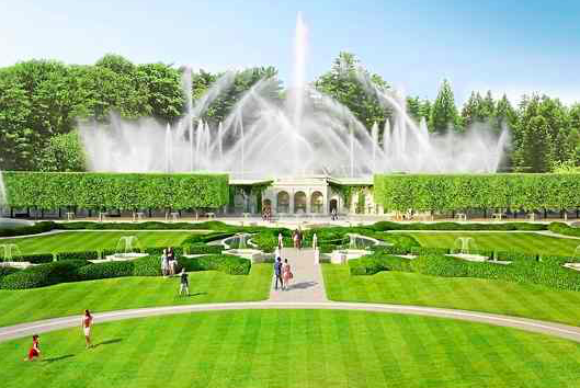 Longwood Gardens reveals opening date for \'spectacular\' Main Garden ...