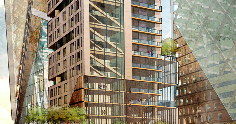 D.C. architects want to build a timber skyscraper in Philadelphia