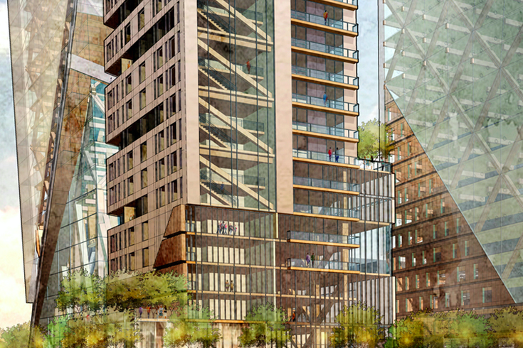D C  architects want to build a timber skyscraper in