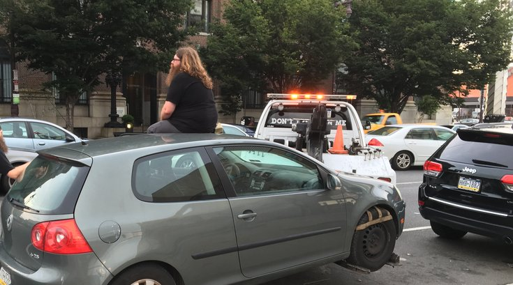 alleged towing scam south philly