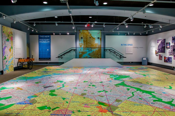 Map Room at the Philadelphia History Museum