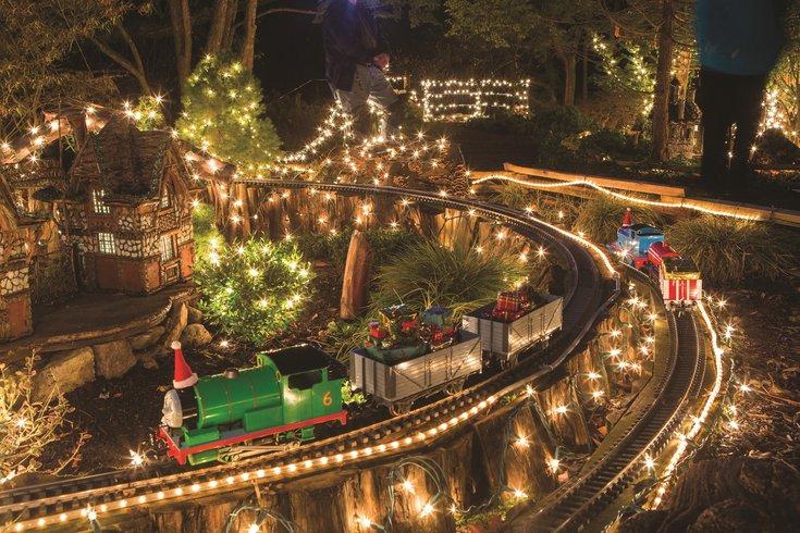 Holiday Garden Railway