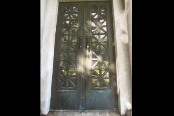 Mausoleum Doors Laurel Hill Cemetery