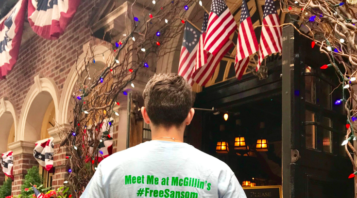 McGillin's Olde Ale House celebrating re-opening of Sansom Street