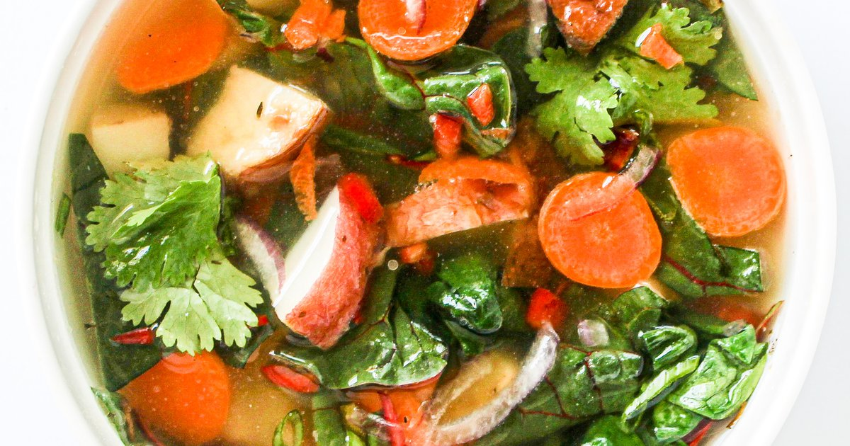 Healthy Recipe: Mediterranean Potato Soup
