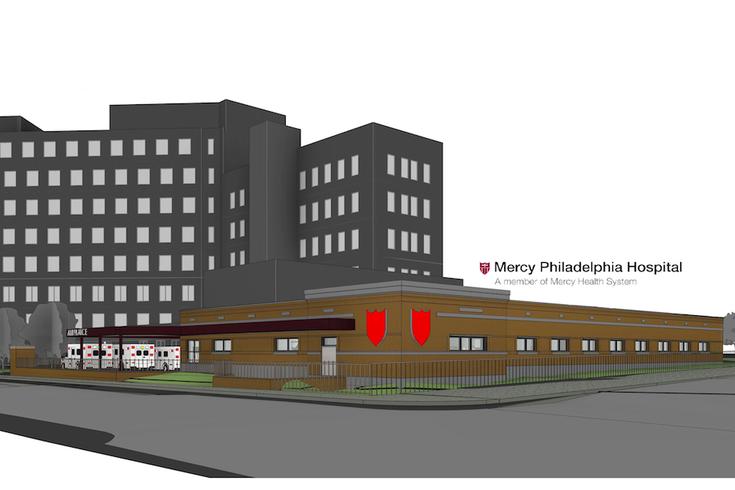 Mercy Philadelphia Hospital embarks on $15 million ER