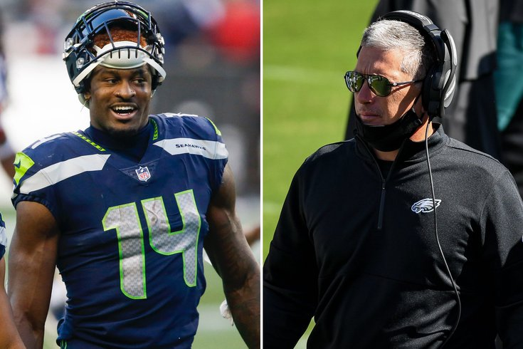 John Mcmullen Eagles Dc Jim Schwartz Learned An Important Lesson Vs Seahawks Don T Ever Talk To Dk Metcalf Phillyvoice