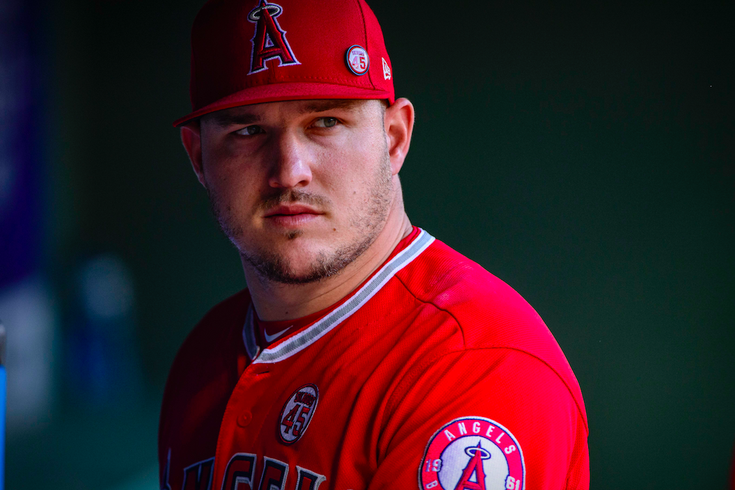 Mike Trout Tyler Skaggs