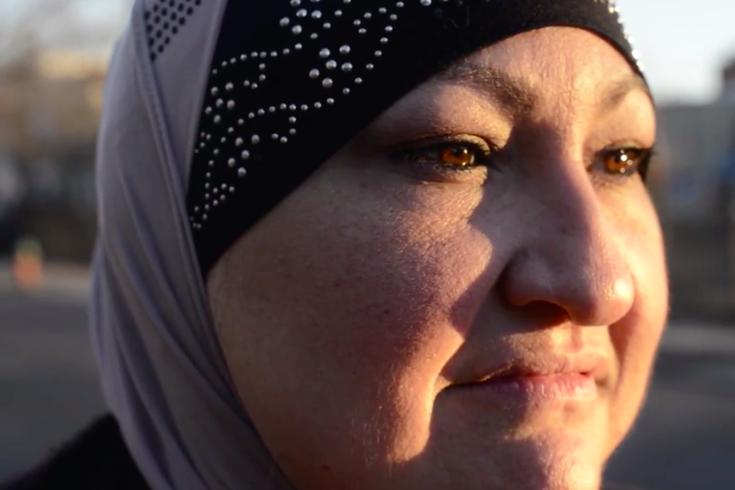Miriam Abuawadeh Muslim in Philadelphia