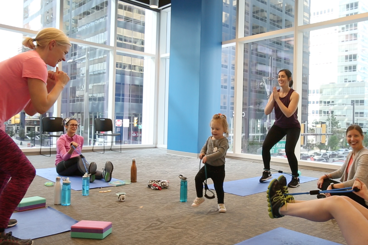 Family Fitness at IBX LIVE