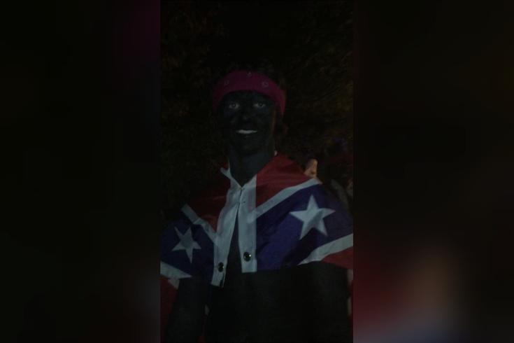 blackface halloween lehigh