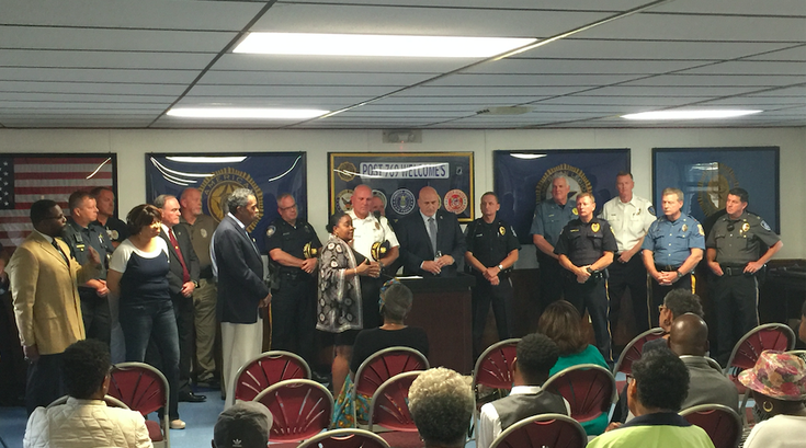 NAACP and Montgomery County Police